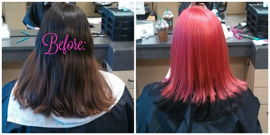 Amber Hot Pink B&A