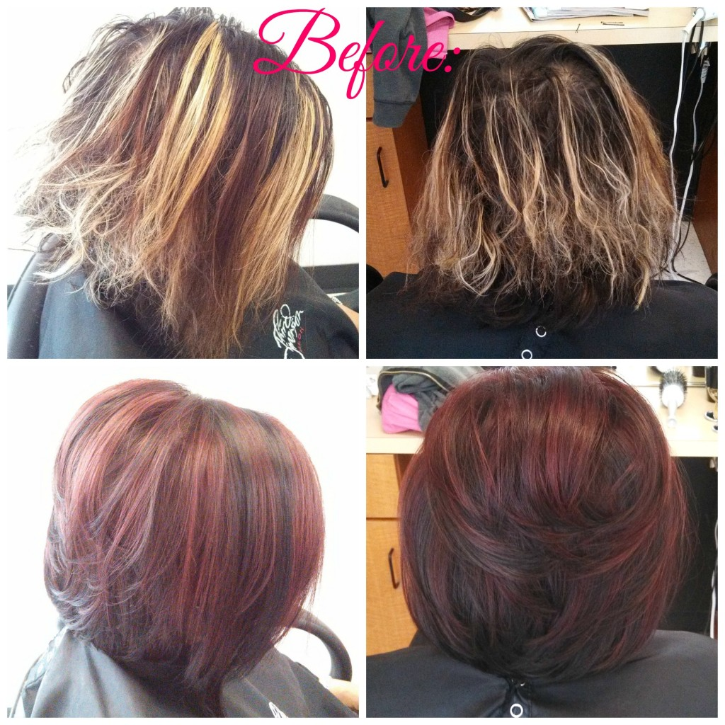 Red Foil Corrective Color